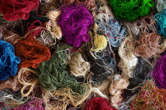 De textielindustrieachtergrond Royalty-vrije Stock Fotografie