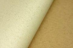 De textieltextuur van de canvasstof Royalty-vrije Stock Fotografie