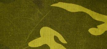 De textieltextuur van de camouflagedoek Stock Afbeeldingen