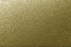 De textura de fondo de oro del papel acanalado ondulado, primer fotografía de archivo libre de regalías