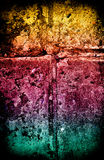 De texturen en de achtergronden van Grunge Royalty-vrije Stock Fotografie