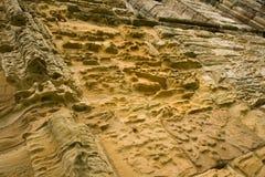 De texturen van de steen van Abdij Whitby Stock Afbeeldingen