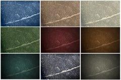 9 de Texturen van de steen Royalty-vrije Stock Afbeeldingen