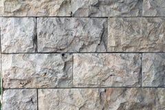 De texturen van de steenmuur Stock Foto's