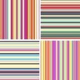 De texturen van de streep Stock Afbeeldingen
