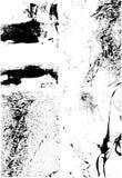 De texturen van Grunge vector illustratie