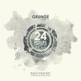De texturen van Grunge Abstracte grungeaffiche als achtergrond voor partij Royalty-vrije Stock Foto