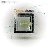 De texturen van Grunge Abstracte vectorgrungeaffiche als achtergrond voor partij Grungedruk voor t-shirt Abstracte vuilachtergron Royalty-vrije Stock Foto's
