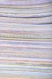 De texturen van het document stock foto's