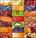 De texturen van het fruit stock foto