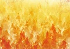 De texturen van vlammen Stock Foto