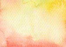 De texturenachtergrond van de waterkleur Stock Afbeelding