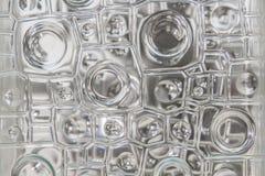 De textuur abstract patroon van het vensterglas voor achtergrond Royalty-vrije Stock Afbeelding