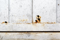 De Textuur Abstracte Grunge van de metaalroest Stock Foto