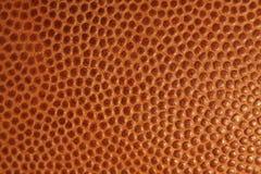 De textuur en het detail van de voetbal voor achtergrond Stock Afbeeldingen