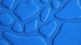 De textuur heldere blauwe kleur van de achtergrondwaterdaling Royalty-vrije Stock Afbeelding