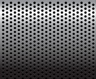 De textuur/het patroon van het metaal vector illustratie