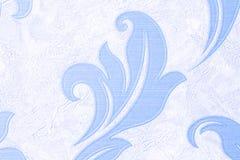 De textuur is lichtblauw met geribbeld Verzadigde hemelkleur, close-up royalty-vrije stock foto