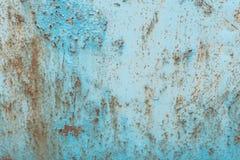 De textuur, metaal, muur, het kan als achtergrond worden gebruikt Metaaltextuur met krassen en barsten royalty-vrije stock afbeeldingen