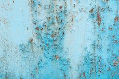 De textuur, metaal, muur, het kan als achtergrond worden gebruikt Metaaltextuur met krassen en barsten royalty-vrije stock fotografie