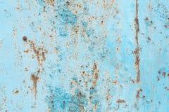 De textuur, metaal, muur, het kan als achtergrond worden gebruikt Metaaltextuur met krassen en barsten stock foto