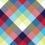 De textuur naadloos patroon van de tafelkleed diagonaal stof vector illustratie