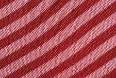 De textuur rood roze van de doek Royalty-vrije Stock Foto