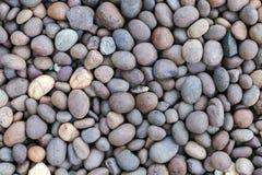De textuur of de steenkiezelstenenachtergrond van steenkiezelstenen steenkiezelstenen voor binnenlands buitendecoratieontwerp Royalty-vrije Stock Fotografie