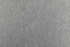 De textuur van aluminium is een fijne monophonic kras, stock afbeelding