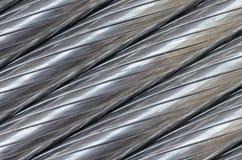 De textuur van de aluminiumdraad Royalty-vrije Stock Afbeelding