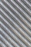 De textuur van de aluminiumdraad Royalty-vrije Stock Foto's