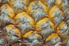 De textuur van ananasdetails Stock Afbeelding