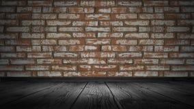 De textuur van de baksteen is oud, gekrast royalty-vrije stock foto