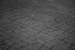 De textuur van de bakstenenvloer Royalty-vrije Stock Afbeelding