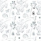 De textuur van bloemen royalty-vrije illustratie