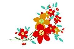 De textuur van bloemen stock afbeelding