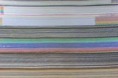 De textuur van boeken Royalty-vrije Stock Afbeelding
