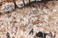 De textuur van de brandwond uit as grunge stock fotografie