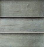 De textuur van brons 3 kleurde vlakke panelen Royalty-vrije Stock Foto's