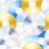 De textuur van CD Royalty-vrije Stock Afbeelding