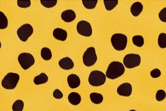 De textuur van Ceetach royalty-vrije illustratie