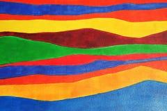 De textuur van Colorfull Stock Foto's