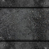 De textuur van de achtergrond asfalt nat weg straatwater Stock Fotografie