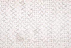 De textuur van de aluminiumplaat Stock Foto's