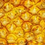 De textuur van de ananas Stock Fotografie