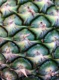 De textuur van de ananas Stock Afbeelding