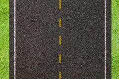De textuur van de asfaltweg. stock afbeelding