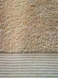 De textuur van de badhanddoek Stock Afbeelding