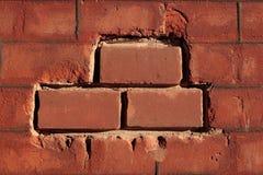 De textuur van de baksteen royalty-vrije stock afbeelding