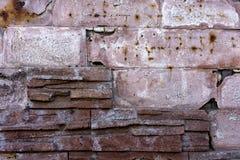 De textuur van de baksteen Stock Afbeeldingen